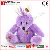 Conejo suave del conejito de la corrección del juguete de la felpa del animal relleno En71