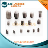 Botones del carburo de tungsteno para los trépanos de sondeo de roca