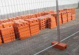 Australia galvanizó el cercado temporal de acero
