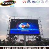 Alto brilho P10 LED de exterior da estrutura de propaganda em outdoor