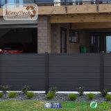 Garten-Zaun des Sicherheits-wasserdichter im Freien Aluminiumrahmen-WPC