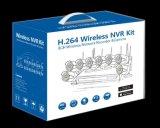 8 kit senza fili di WiFi NVR del sistema di obbligazione della macchina fotografica del CCTV della Manica 1080P