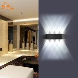 Nueva luz al aire libre impermeable de aluminio de la pared del diseño moderno LED