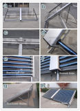 Non pressurisé évacué tube collecteur solaire pour le projet d'eau chaude