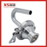 Acero inoxidable SS304 SS316L higiénico sanitarias de la válvula de ventilación de aire