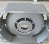 La lega la pressofusione per gli accessori del coperchio del nero del raso della macchina