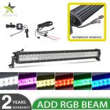 구부려진 똑바른 RGB LED 모는 표시등 막대 플러드 광속 반점 결합 다중 변화 색깔 LED 표시등 막대