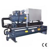 Tipo de refrigeração água refrigerador do parafuso de água industrial