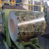 La couleur d'acier galvanisé recouvert de marbre de la bobine (pattern) avec des prix Compertitive