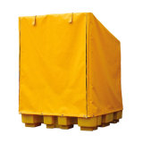 Cubierta impermeable de la paleta del encerado del PVC de la alta calidad 650GSM hecha en China