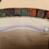 [فولّ كلور] يطبع نوع خيش [توت بغ] مع داخليّ سحاب جيب