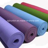 Dos caras de TPE Diseño antideslizante Mat de Yoga Formación