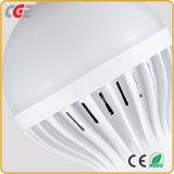 Las lámparas LED China Fabricante de plástico de ahorro de energía bombilla LED 3W/5W/7W/9W/12W/18W de luz LED Bombillas LED