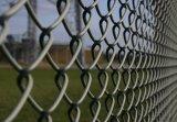 Пвх покрытие оцинкованной стальной проволоки сетка звено цепи ограждения