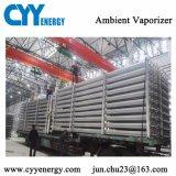 Vaporizador ambiente gas-aire de AR del líquido del N2 industrial del O2