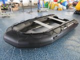 Durable Cheap Speed Boat Inflatable Fishing Boat with Outboard Motor
