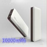 Neue Ankunft Doppel-USB-bewegliche Energien-Bank 10000mAh mit LED