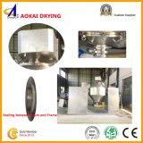 Máquina de secagem afilada para o calor - materiais sensíveis