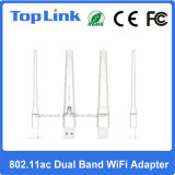 5A9t 802.11AC/a/B/G/N 600Mbps HochgeschwindigkeitsWiFi Stock drahtloser USB2.0 WiFi Dongle mit externer Antenne 2dBi