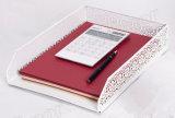 신제품 금속 메시 문구용품 파일 쟁반 사무실 책상 부속품