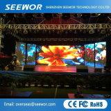 Hohe miete LED-Bildschirmanzeige der Definition-P2.5mm leichte Innenmit der 240*180mm Baugruppe