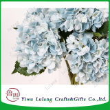 Mayorista de alta calidad de seda artificial verdadero toque Hydrangea Flor