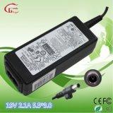 carregador de bateria do caderno da recolocação de 40W 19V 2.1A para Samsung