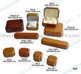 rectángulo de regalo de madera modificado para requisitos particulares manera del vino/de la joyería/caso del almacenaje