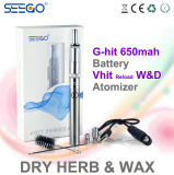 La ricarica W&D di Vhit di alta qualità asciuga il vaporizzatore della cera di Herb+
