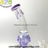 """13.2 """" Glasrohr des unbesonnenen Glasrauch-Rohres des wasser-Rohr-420 mit UFO Perc, zum von Perc zu ermüden"""