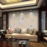 ソファーの背景幕の壁ペーパー