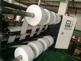 1300 Cinta OPP de alta velocidad dúplex máquina rebobinadora y cortadora longitudinal