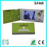 Tarjeta de visita video de 2.4/2.8 pulgadas con la pantalla del LCD para hacer publicidad