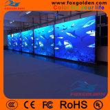 Farbenreiche örtlich festgelegte Bildschirmanzeige LED-P3 grosse LED-Innenbildschirmanzeige