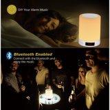 Lampe de chevet de détecteur de contact d'orateur de DEL Bluetooth (OG-JBL-07)