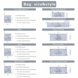 Tre Side Seal Stangding Pouch Bag e Zipper