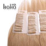 La meilleure qualité de 18 pouces vierge de la bande dans l'homme Blond Hair Extension