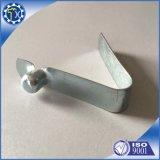 Clips à ressort intérieurs faits sur commande de bouton de forme de v d'acier en forme de tuyau utilisés dans la tente ou le parapluie