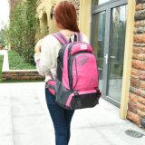 Nylon impermeable rosa Camping Deportes viaje mochila de senderismo para mujeres o niñas
