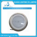 IP68 316 indicatore luminoso subacqueo della piscina montato superficie dell'acciaio inossidabile LED
