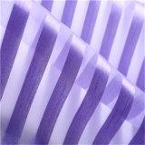 Новейшая конструкция Organza Voiles полосы из полиэфирного волокна ткани для одежды