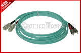 2.0Mm de SC Duplex ST OM3 câble fibre optique multimode