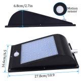 Outdoor 1000 Lumen 81 Voyants Rue lumière solaire intégré le capteur de mouvement lampe solaire
