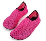 男女兼用の普及した柔らかい浜のプールのヨガ水歩く水の靴