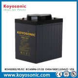 Fiables 6V 220Ah AGM VRLA de plomb-acide de batterie UPS à cycle profond