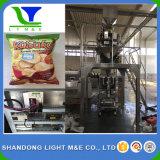 Luftstoßende Imbiss-automatische Verpackungs-Maschinerie/vertikale Mais-Rotationen/Kartoffelchips/Nuts Verpackungs-Maschinerie