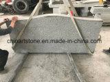 Cemetryのための中国の花こう岩の墓石