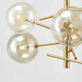 lámpara pendiente moderna de la bola de cristal de la iluminación de 2017newest LED para la iluminación de interior