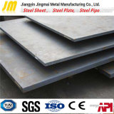Plaque en acier carbone SS400, plaques en acier laminés à chaud