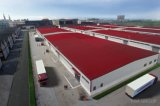 軽い鋼鉄構築の大きいスパンの鉄骨構造の倉庫の建物